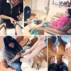 Mobile Memories: First Pedicure {and tip for uploading pictures quickly with DropBox}