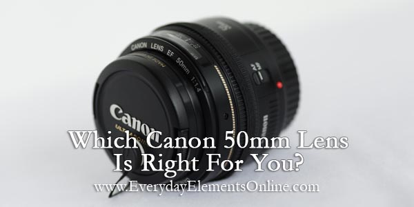 Which Canon 50mm Lens Is Right For You?