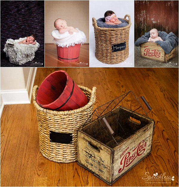 Baskets for Newborn Photos