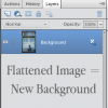 How and When to Flatten in Photoshop {Elements}