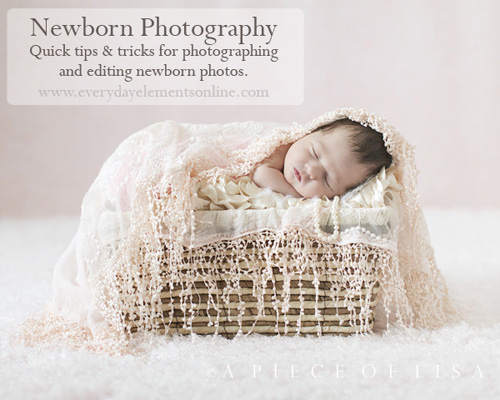 Quick tips for newborn photography