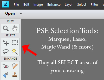 PSEselectiontools